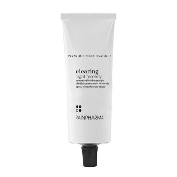 clearing-night remedy serum mask rainpharma
